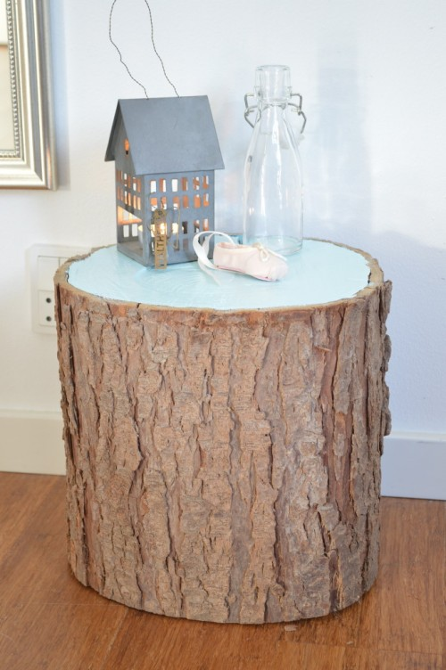 7 Rustic DIY Stump Coffee Tables And Stools Shelterness