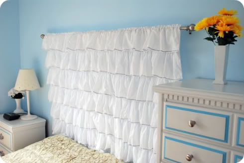 6 various diy fabric headboards to make - shelterness