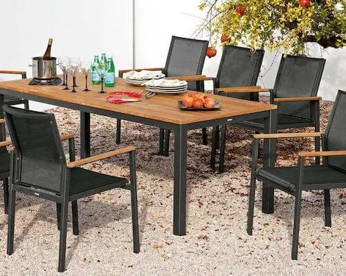 top 10 modern outdoor dining tables
