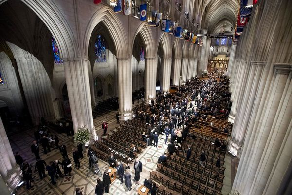 Image result for national cathedral bush
