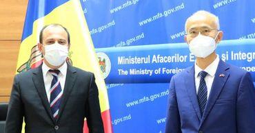 Министр иностранных дел принял посла КНР.