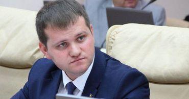 """Лидер партии """"Союз спасения Бессарабии"""" Валериу Мунтяну."""