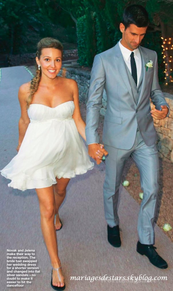Novak Djokovic Amp Jelena Ristic Mariages De Stars
