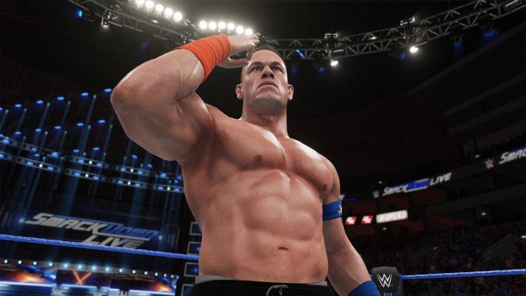Test WWE 2K18
