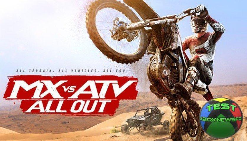 Test MX vs ATV All Out à vos Motocross lancez vous dans la course