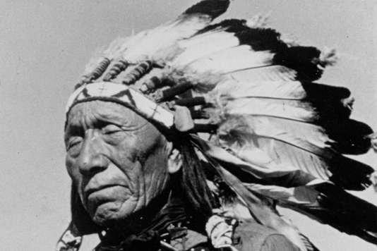 """« Black Elk en route un sioux"""" vers le Vatican"""