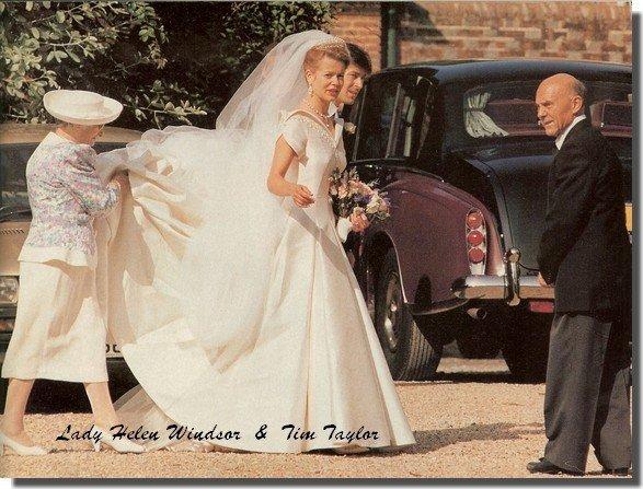 Wedding Dress Lady Helen Windsor Miss Taylor Blog De