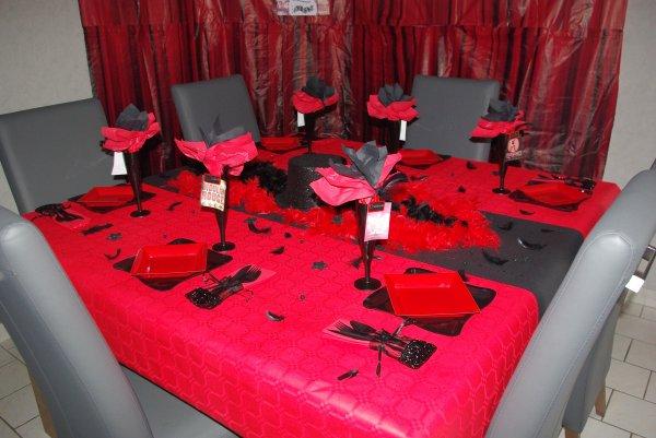 Table Cabaret Deco De Table De Christine