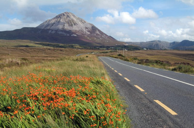 Ireland: Errigal Mountain