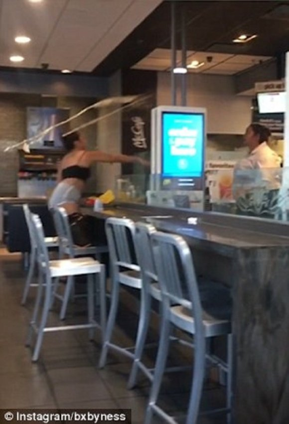 McDonald's Employee Goes WWE On Customer After Argument ...