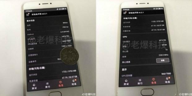 В Сети появились фотографии Meizu Pro 6s