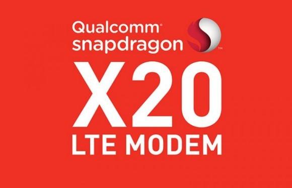 Snapdragon X20 - первый модем LTE Cat. 18