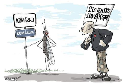 Komárno is for mosquitos