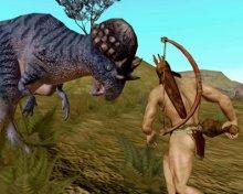 Cavemen And Dinosaurs
