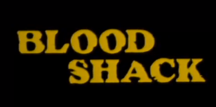 Poster do filme Blood Shack