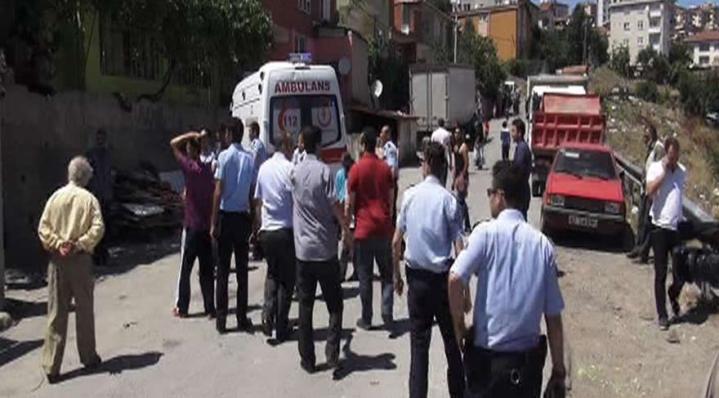 Atatürk siluetini İzmir Marşı eşliğinde izlediler