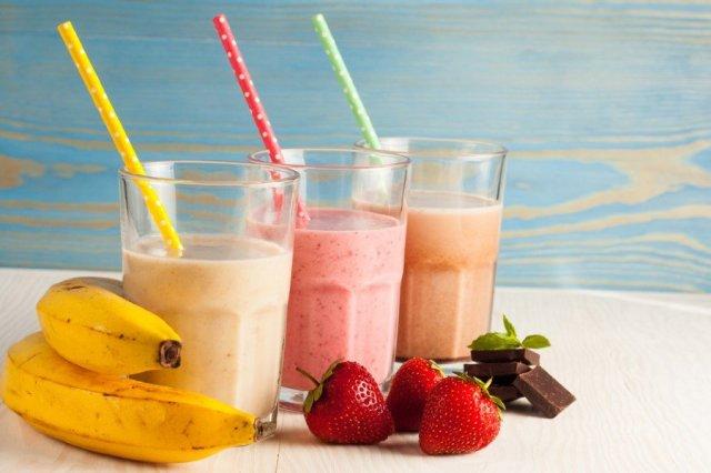 SPEAKER milkshake with Visual outcome