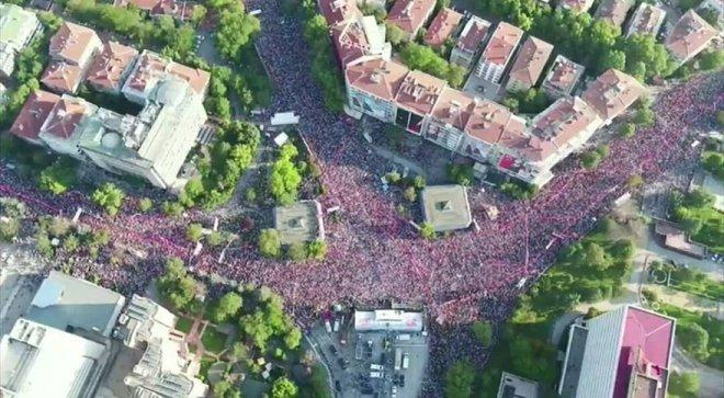 İnce'nin Ankara mitingi ile ilgili görsel sonucu