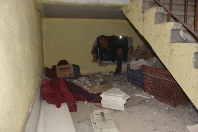 Zanlılar baskın sırasında kazdıkları tünelle kaçıyorlardı. DHA