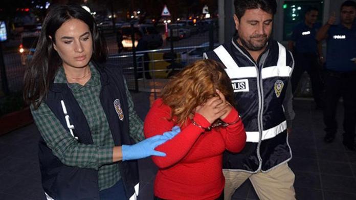 Suç makinesi kadın sonunda yakalandı!