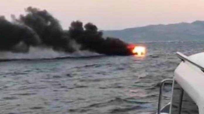 Bodrum'daki tekne faciasının görüntüleri ortaya çıktı