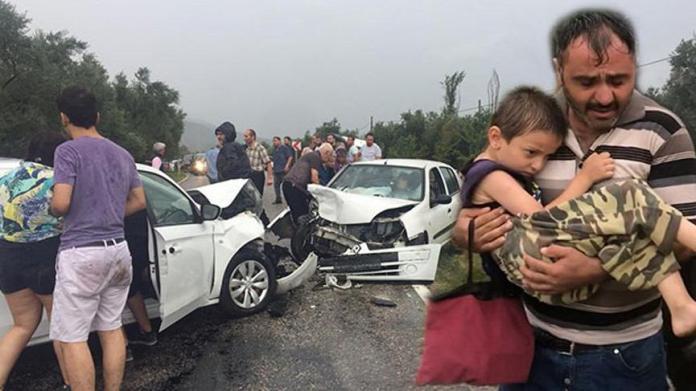 Bursa'da zincirleme kaza: 18 yaralı