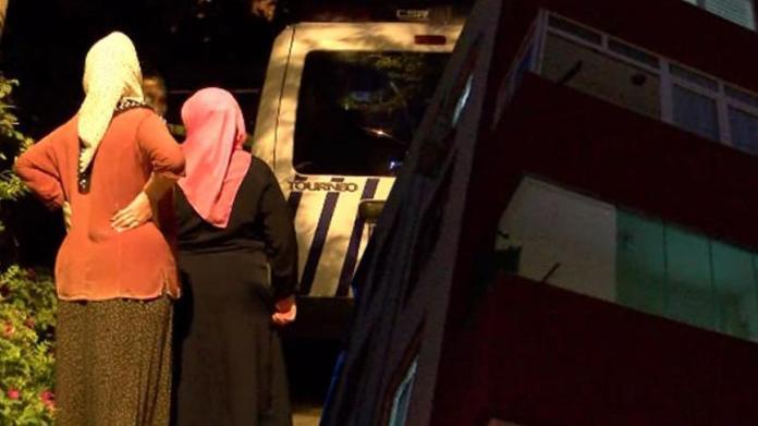 İstanbul'da korkunç olay! Kadın balkonda düştü eşi peşinden atladı