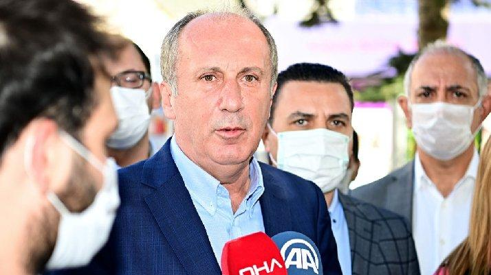Reaction from CHP's İnce to Bahçeli's announcement of hanging bread ...