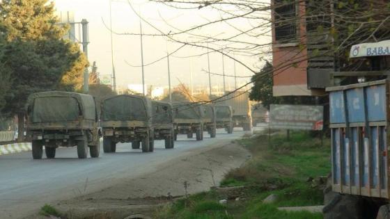 Αποστολή οχημάτων και κομάντο στη Συρία