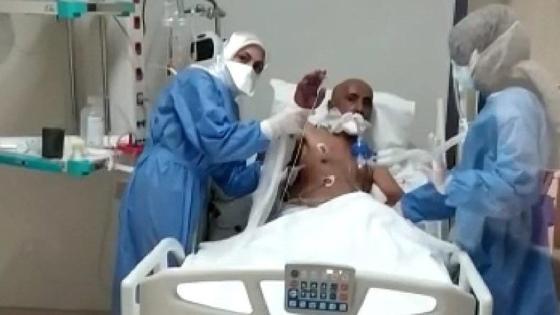 Ο 60χρονος ασθενής με κορώνα έφυγε εντατικής θεραπείας μετά από 155 ημέρες