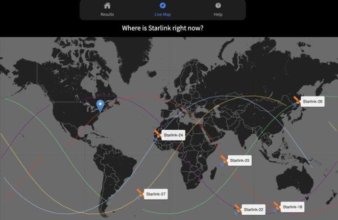 Uzay meraklısı, Starlink uydularını takip eden web sitesi yaptı 15