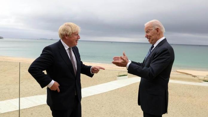 Biden ve Johnson, G7 Zirvesi öncesi görüştü