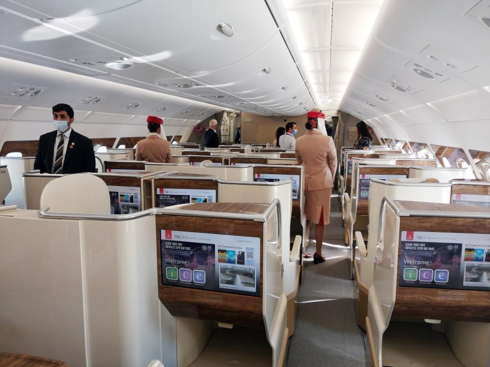 Dünyanın en büyük yolcu uçağı İstanbul'da