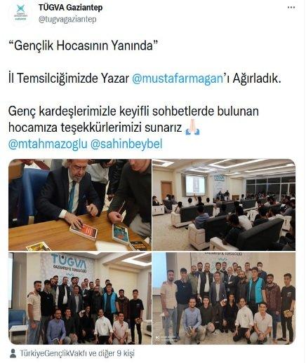 Atatürk'e hakaret eden Mustafa Armağan'a TÜGVA sahip çıktı