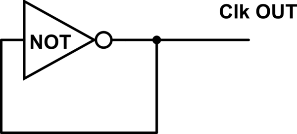 "How To Delay A ""not Gate Oscillator"" To Make It"