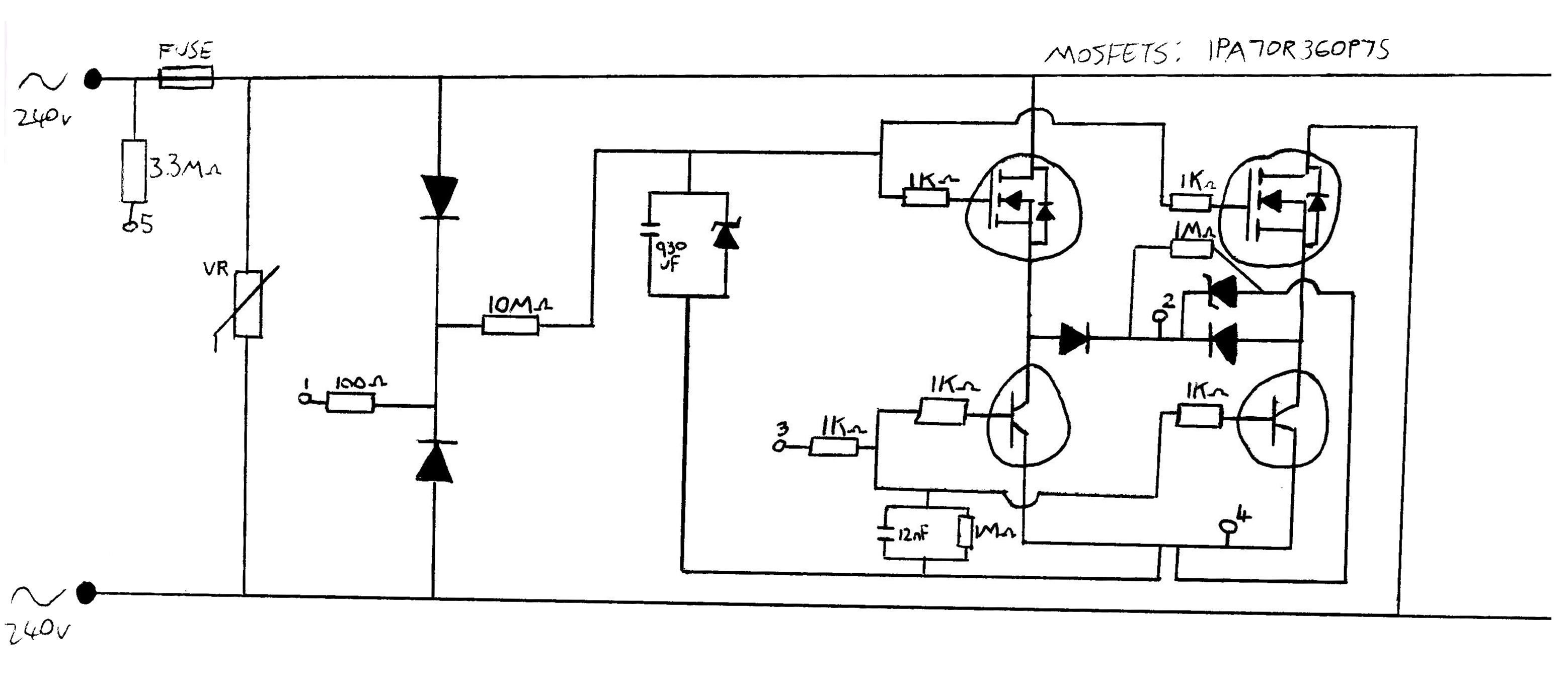 Mos Fet Wiring Diagram