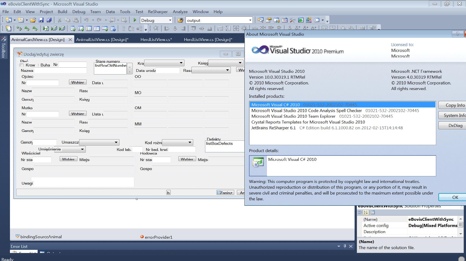 Design Winform C Visual Studio Lost Position Elements