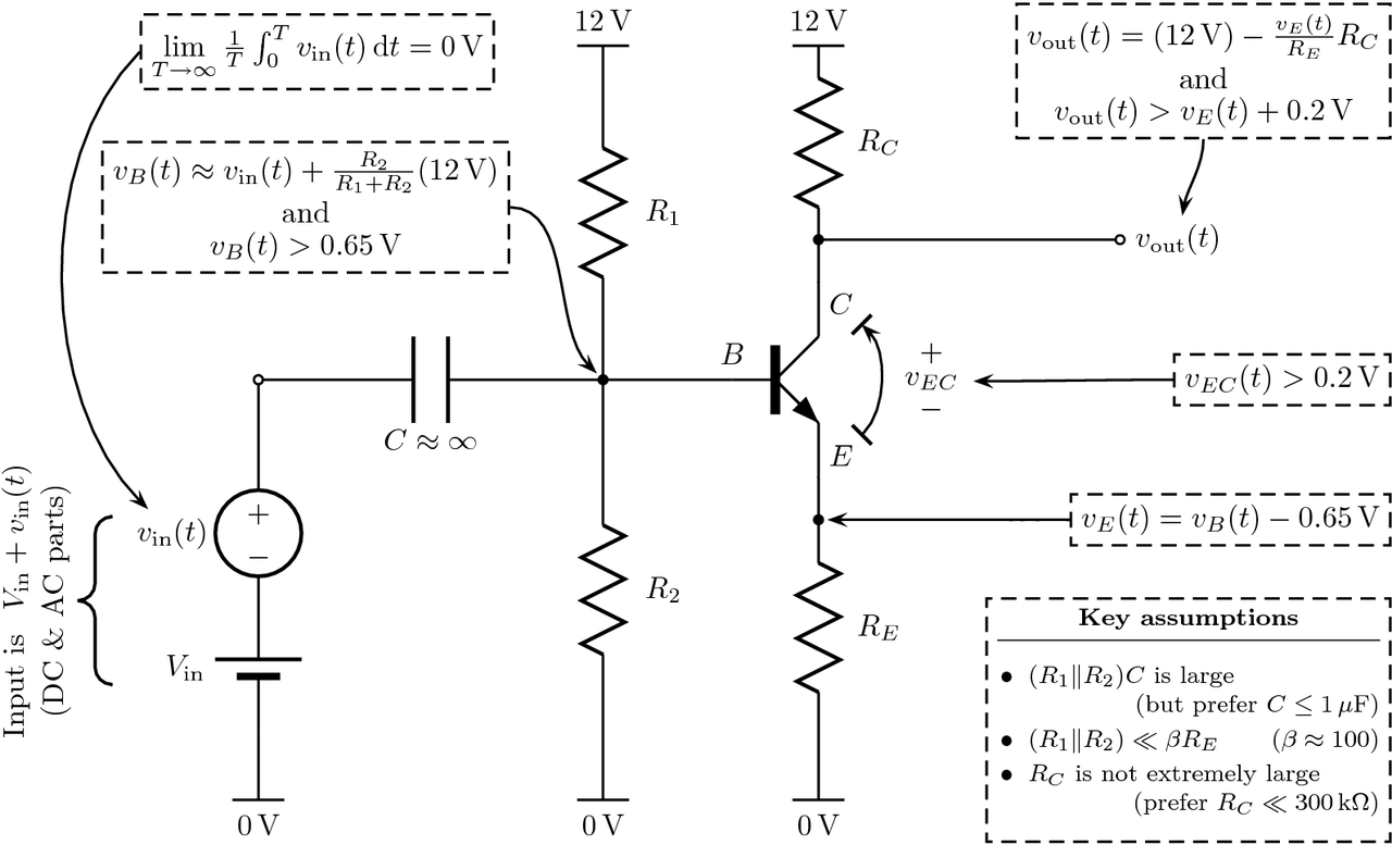 How Do You Calculate The Voltage Output Of A Common