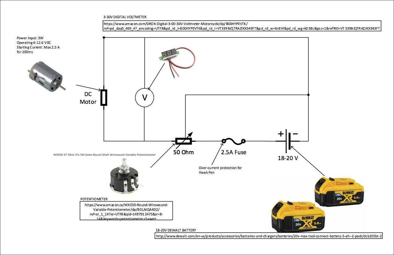 Wiring Diagram 18 Volt Battery Wiring Diagram