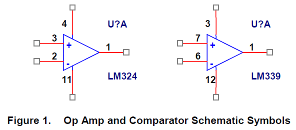 Comparator Schematic Symbol