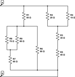 resistance  Series  Parallel Resistor Calculations