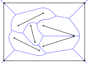 polyline  Create voronoi diagram from line segments