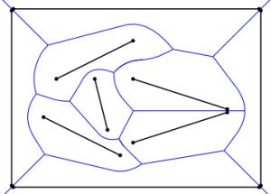 polyline  Create voronoi diagram from line segments
