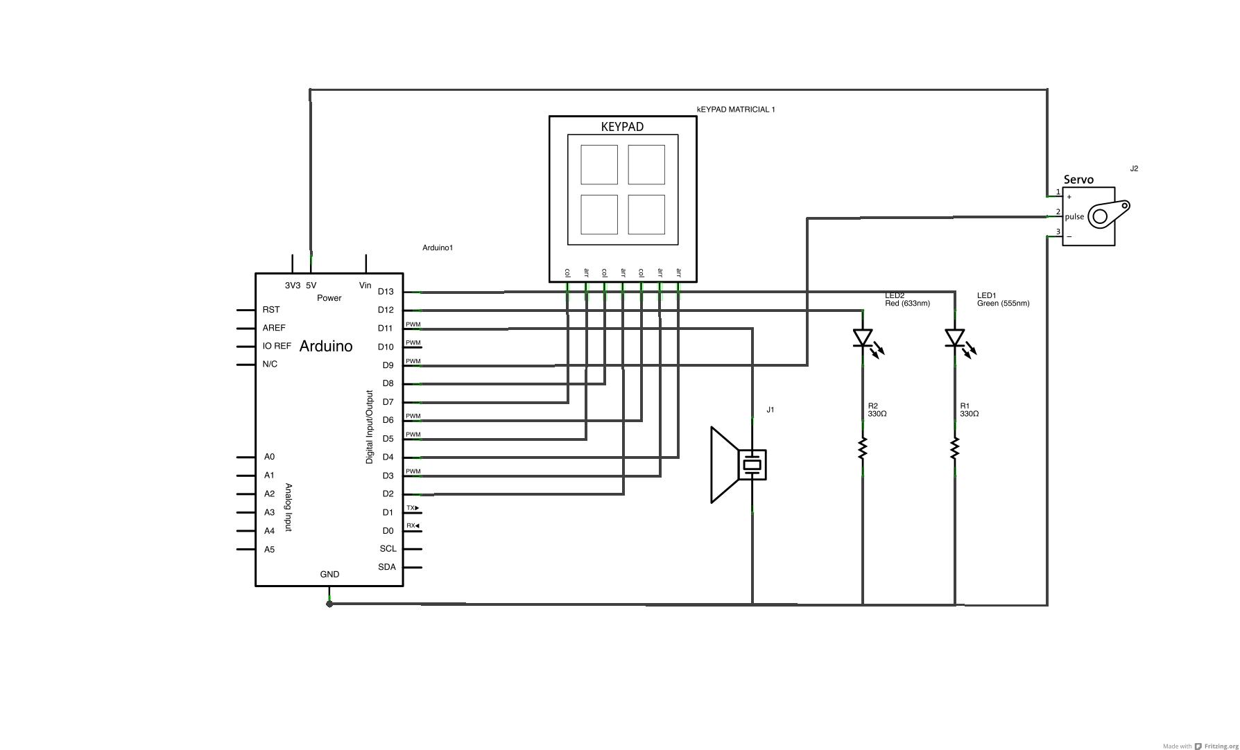 Tone Stack Schematic