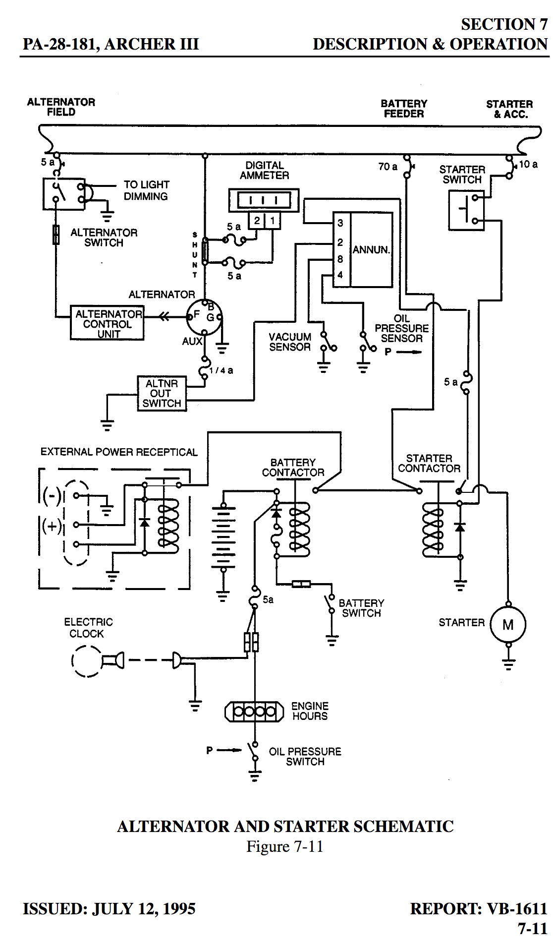 Aircraft Inter Wiring Diagram