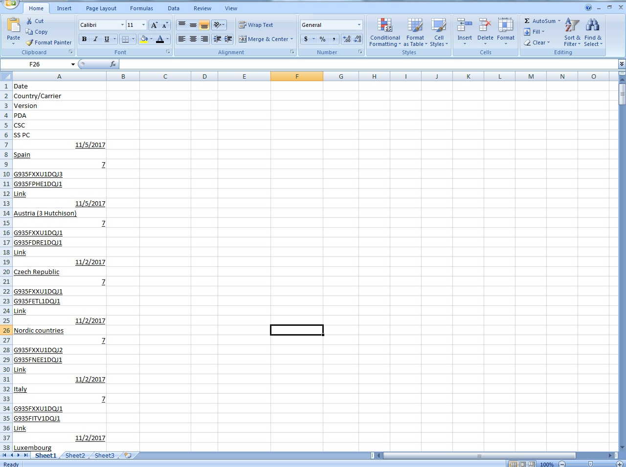 Transposing Every 6 Row To Column In Excel