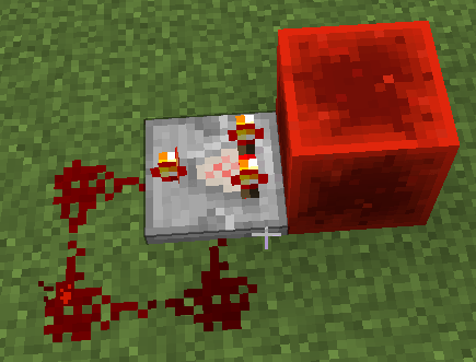 Minecraft How Do You Make The Most Compact Rapid Redstone Pulser That Never Stops Arqade