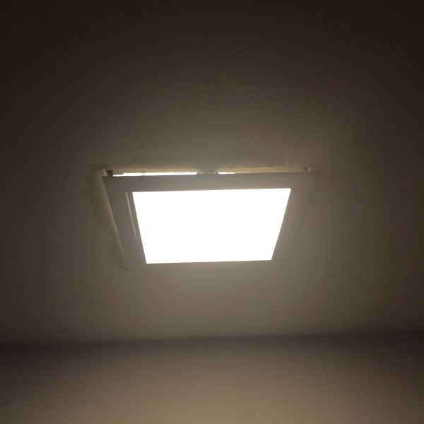 lighting   Replacing square flush mount light falling out of ceiling     enter image description here