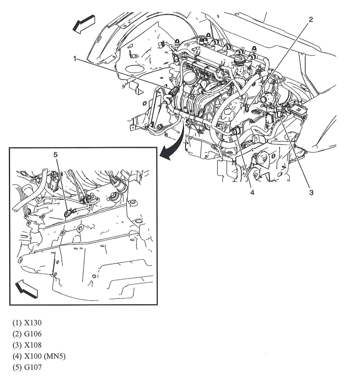 Chevy Impala Battery On Engine Diagram Chevy