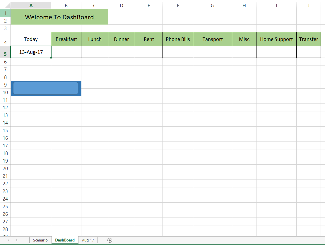 Excel Data Entry With Date Matching Plus Move To Another Sheet After Table Run Out